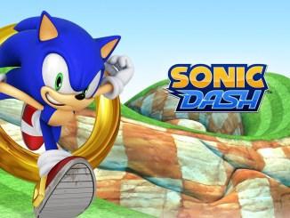 Sonic Dash och Sonic the Hedgehog