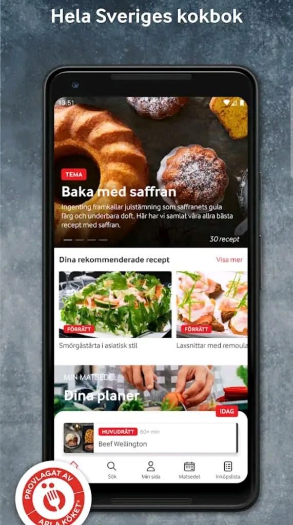 Arla Köket är hela Sveriges kokbok