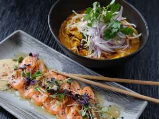 close up photo of mouth watering sashimi