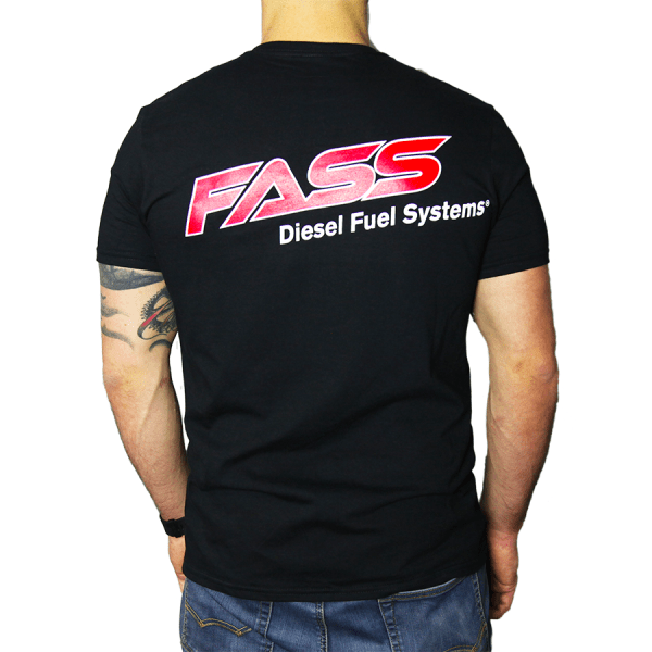 Fueled By FASS Simple FASS Logo Back