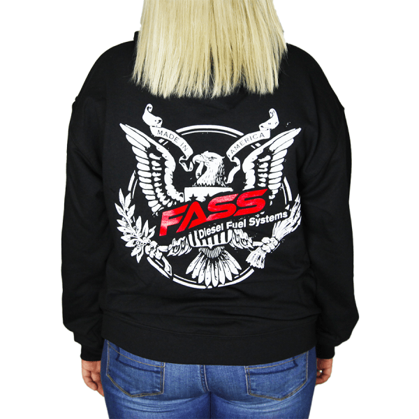 Fass Diesel Fuel Systems Hoodie Lady