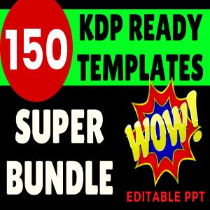 150 KDP Super Bundle Ready Templates Cheap Price