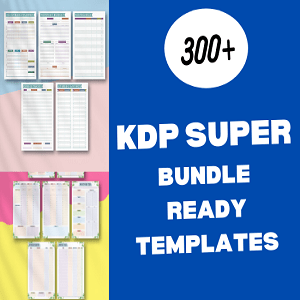 300+ KDP super bundle ready templates Cheap Price