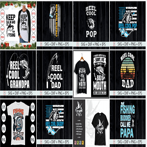 260+ New Fishing T-shirt Design Super Bundle Cheap Price