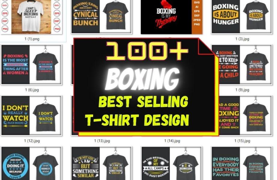 100+ NEW BOXING-WORKOUT TSHIRT DESIGN MEGA BUNDLE CHEAP PRICE
