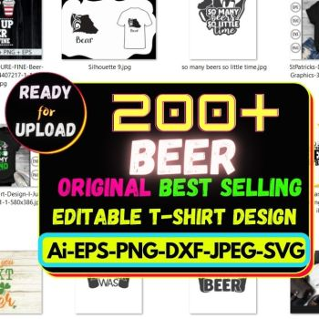 200+ Beer Best Selling T-shirt Design 2021 Cheap Price