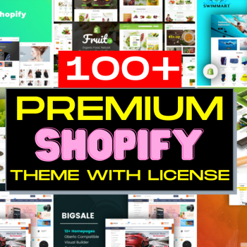 100+ Premium Shopify Theme Bundle With License 2021