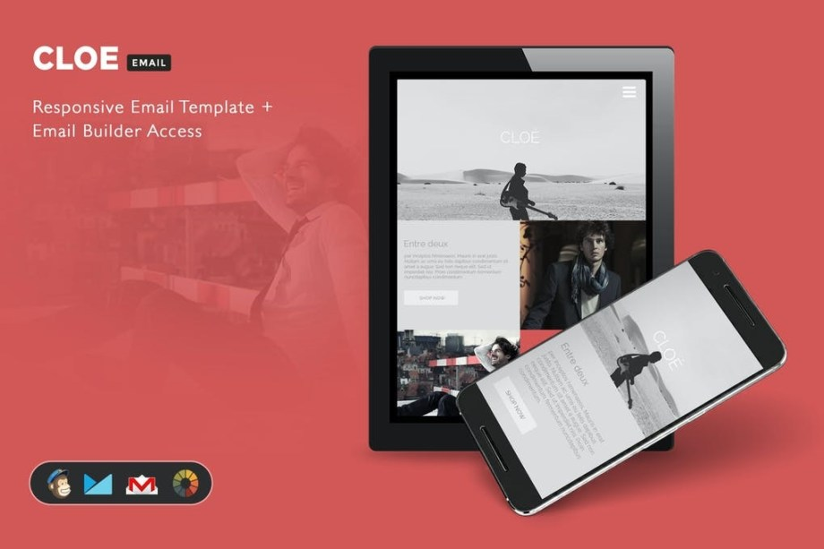 Best Cloe - Responsive Email Template + Builder Access Cheap Price