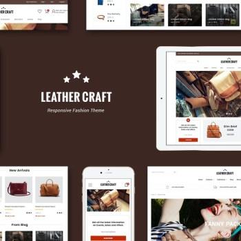 Best Leather - Responsive Fashion Shopify Theme Cheap Price