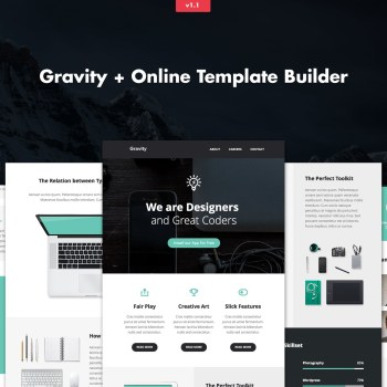 Best Gravity-Responsive Creative Email + Builder Cheap Price