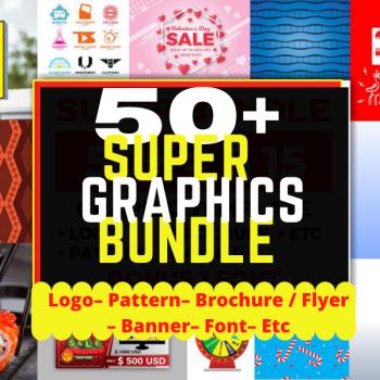 50+ Super Graphic Templates Bundle