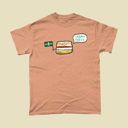 Cream First Devon Scone T Shirt