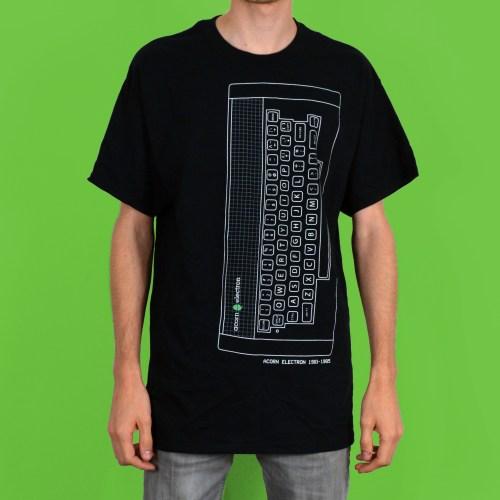 Acorn Electron Retro Vintage Computer T Shirt