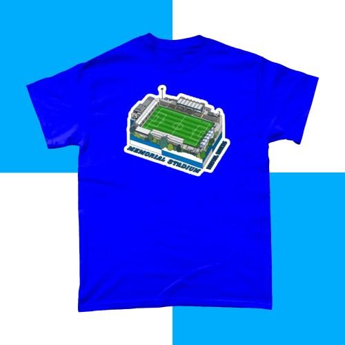 Bristol Rovers Memorial Stadium Football T Shirt