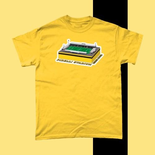 Burton Albion Pirelli Stadium Football Stadium T Shirt