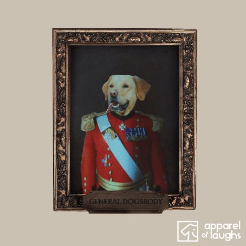 General Dogsbody Dog Labrador T Shirt Design Sand