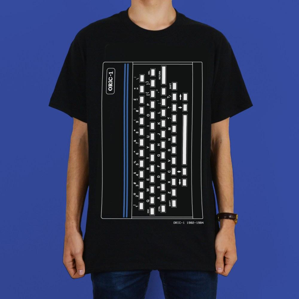 Oric 1 Retro Personal Computer T Shirt