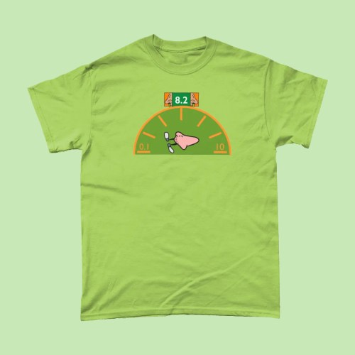Snot O Meter Bogies Dick and Dom Bungalow T Shirt