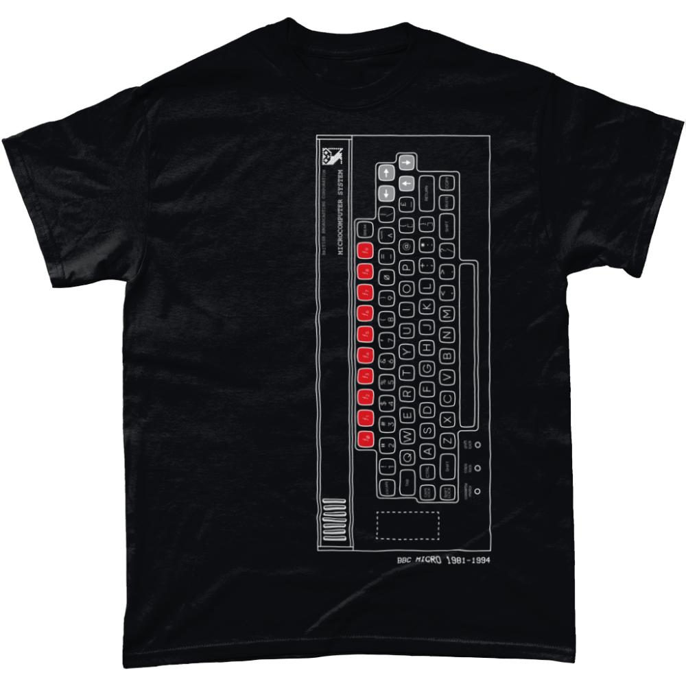 BBC Micro T Shirt Black
