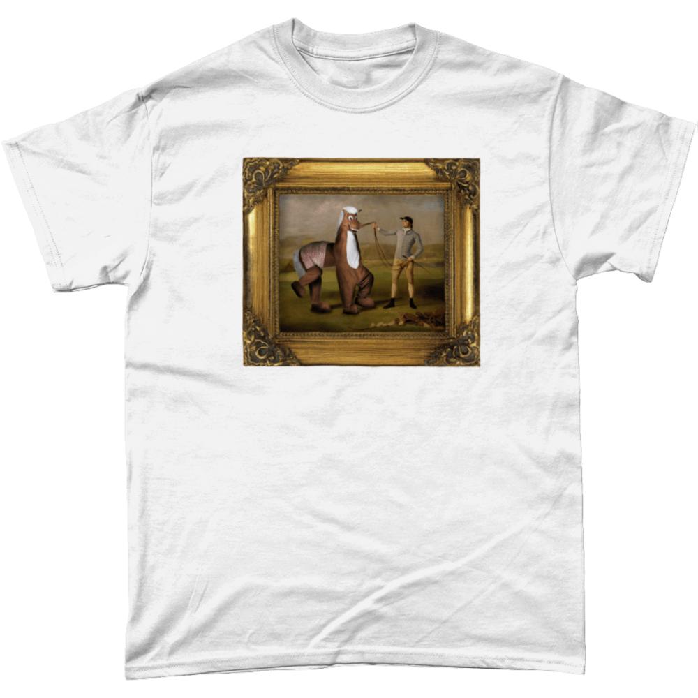 Pantomime Horse Panto Painting T Shirt White