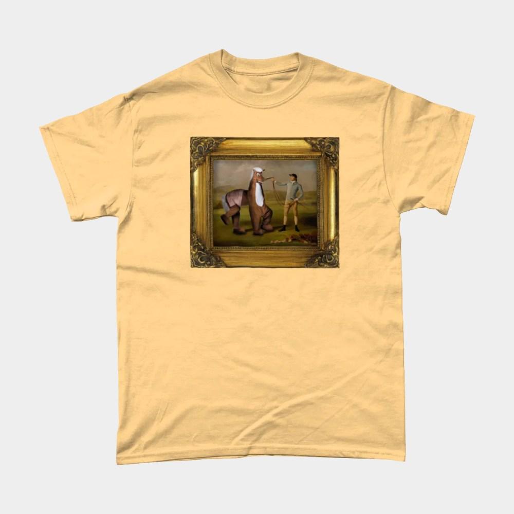 Panto Horse Old Master Artwork T Shirt