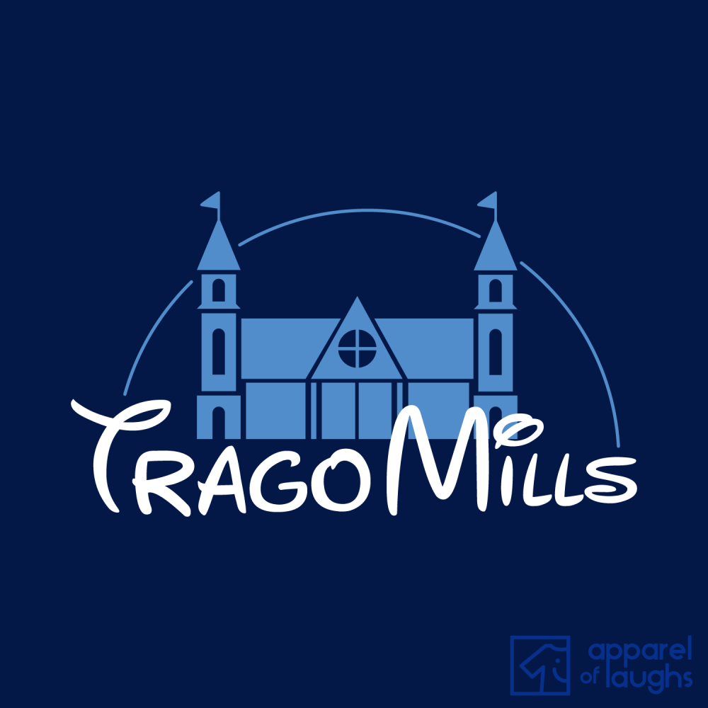 Trago Mills Magical Kingdom T Shirt Design Navy