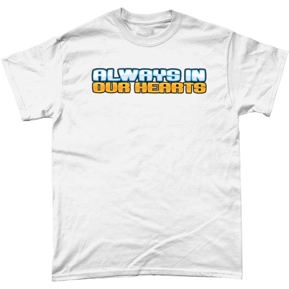 Always in our Hearts Club Penguin T Shirt White