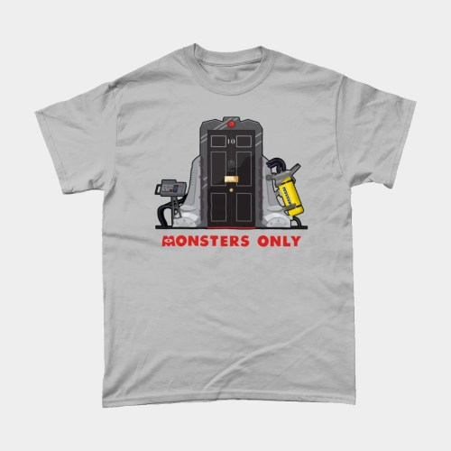 Monsters Only Monsters Inc Downing Street Political T Shirt