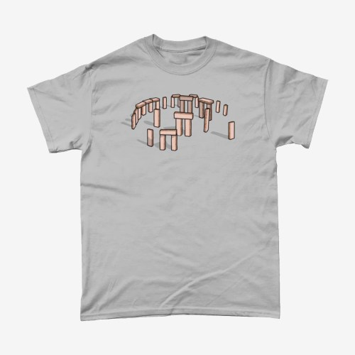 Pink Wafer Stonehenge T Shirt