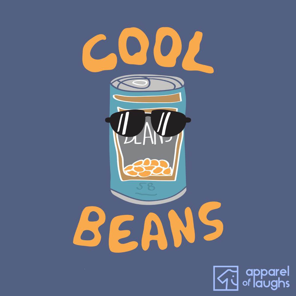 Cool Beans Hoodie Design Airforce Blue