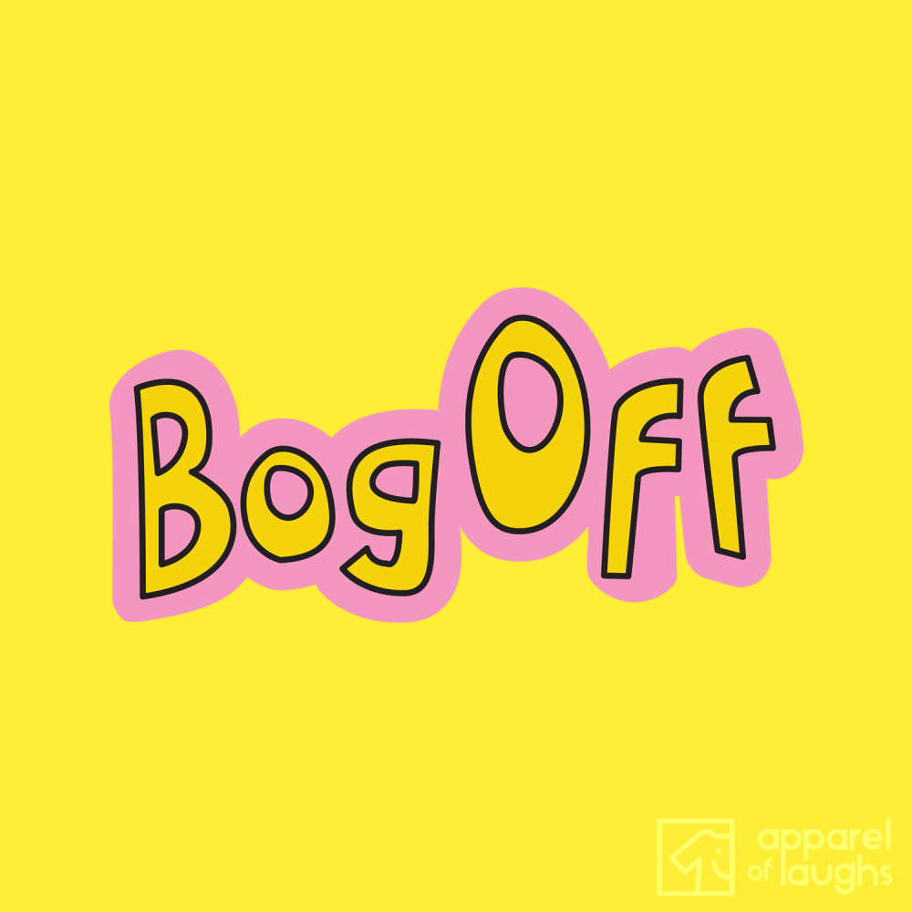 Tracy Beaker Bog Off CBBC Hoodie Design Sun Yellow