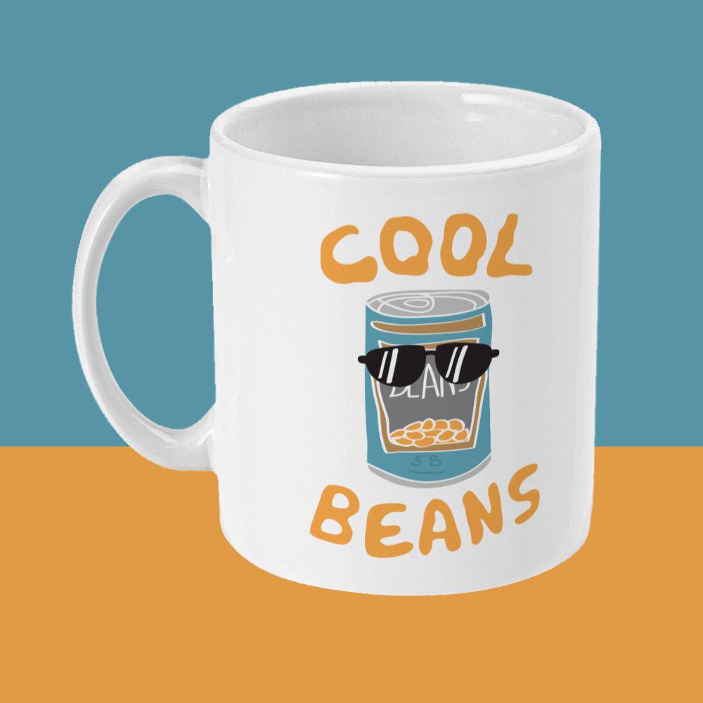 Cool Beans Mug Left