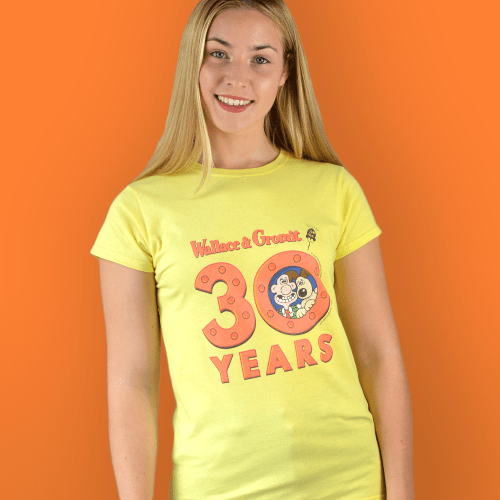 Wallace and Gromit 30 Years Grand Day Out Rocket Women's T-Shirt