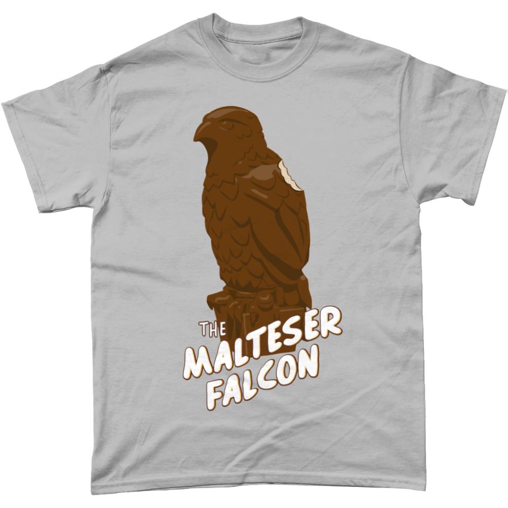 Malteser Maltese Falcon Maltesers British Chocolate T-Shirt Men's Sports Grey
