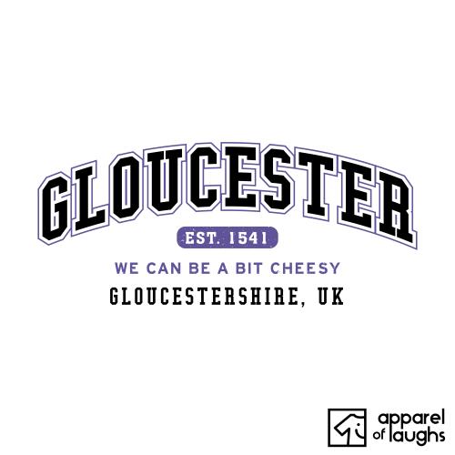 Gloucester City Men's T-Shirt Women's Hoodie British Places White