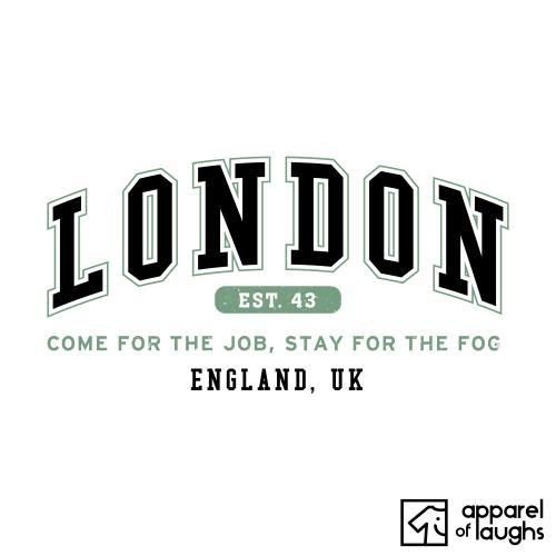 London City Men's T-Shirt Women's Hoodie British Places White