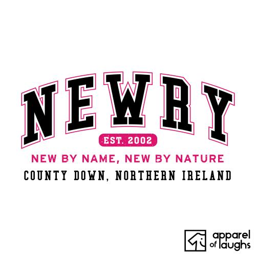 Newry City Men's T-Shirt Women's Hoodie British Places White
