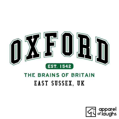 Oxford City Men's T-Shirt Women's Hoodie British Places White