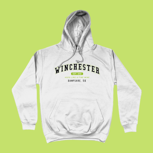 Winchester City Men's Apparel Women's Hoodie British Places White