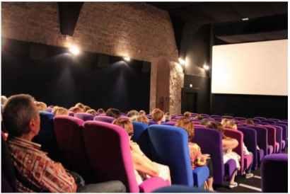 La salle de cinéma arts et essai les templiers de Montélimar Agglomération (crédits photos montelimar agglomération)