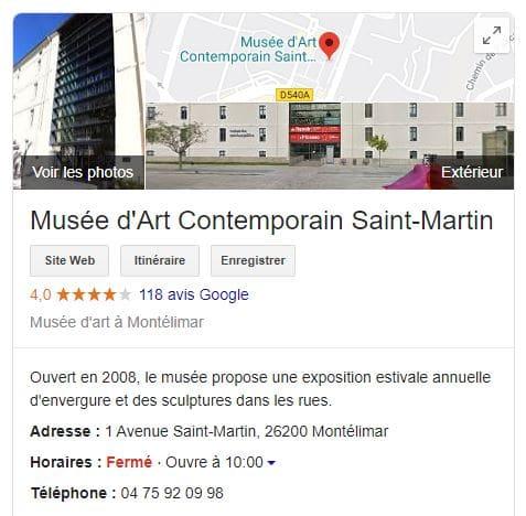 Situé dans l'ancienne caserne de Montélimar, le musée d'art contemporain saint-martin est un exemple de réussite de reconversion