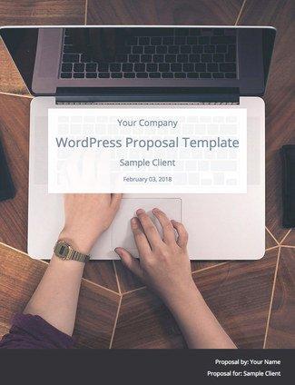 Wordpress Website Proposal Template By Wpelevation Bidsketch