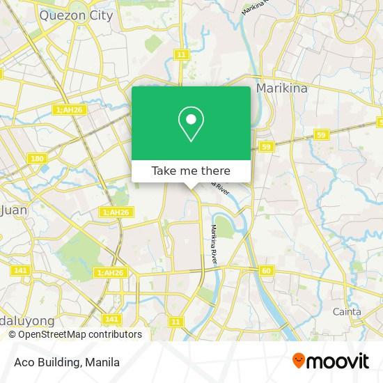How To Get To Aco Building In Quezon City By Bus Or Train Moovit