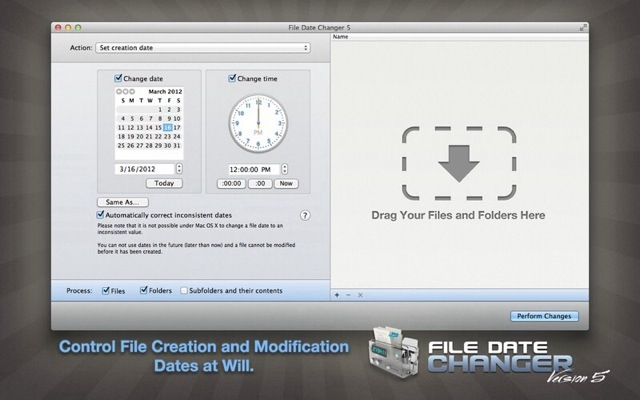 Video: How to Batch Change File Dates on your Mac with File Date Changer