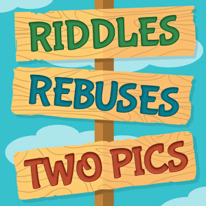 Riddles, Rebuses and Two Pics answers