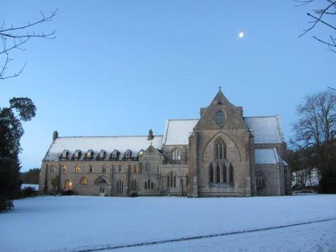 Early winter's morning at the Abbey