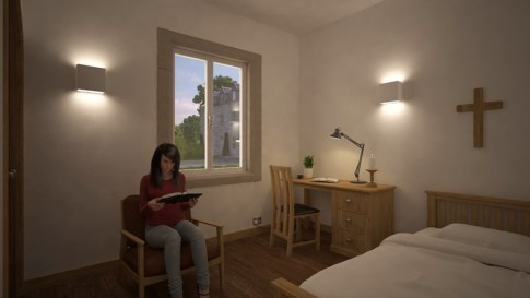 Room in Female Retreat