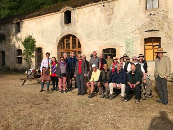 Day 1 of Pilgrimage leaving Val-des-Choux