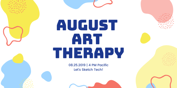 August ARt therapy