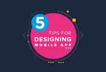 Tips for designing a Mobile app